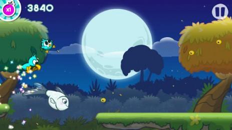 Скриншот беги, маленькая птичка киви