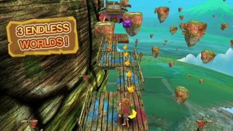 Скриншот погоня за мартышками
