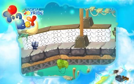 Скриншот приключения робота