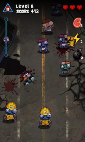 Скриншот истребитель зомби