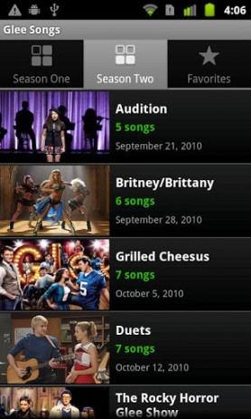 Glee Songs | Android