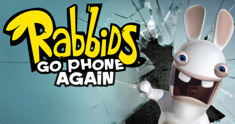 Poster Rabbids Go Phone Again HD