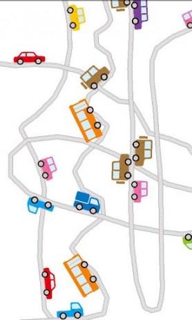 Скриншот нарисуйте дороги