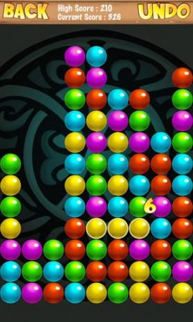 Скриншот головоломка с шариками