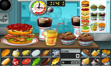 Скриншот Бургер
