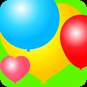 «Colorful Balloons for kids — цветные воздушные шарики для детей» на Андроид