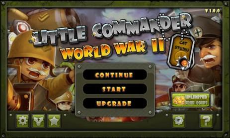 Скриншот Маленький командир: WWII TD