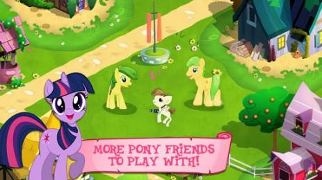 Скриншот мой маленький пони