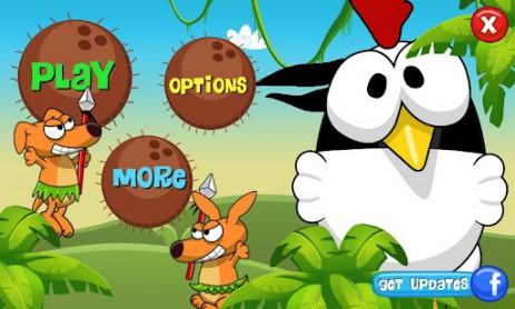 Скриншот ниндзя-курица
