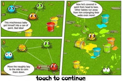 Паучки - распутываем паутину | Android