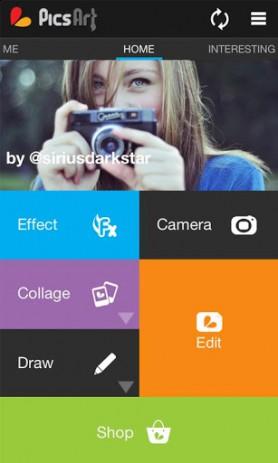 Скриншот спецэффекты для фото
