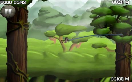 Скриншот побег в джунглях