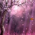 """Poster <span lang=""""ru"""">Sakura Forest Live Wallpaper</span>"""