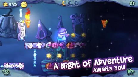 Скриншот приключения совы-лунатика