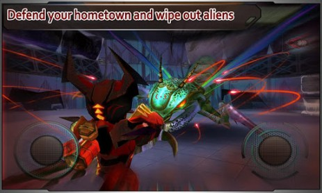 Скриншот Star Warfare:Alien Invasion HD