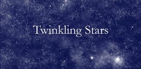 Мерцание звезд - ночное звездное небо - thumbnail