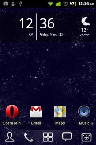 Мерцание звезд - ночное звездное небо | Android