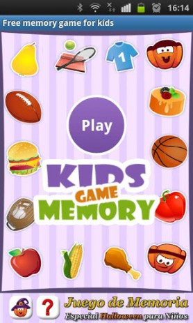 Free memory game for kids - развивающая память игра | Android