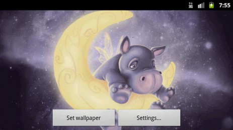 Sleepy Hippo Live Wallpaper | Android