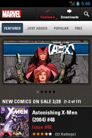 Скриншот комиксы о супергероях