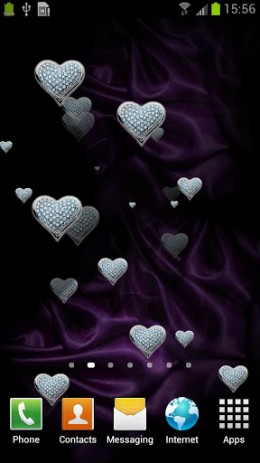 Hearts Live Wallpaper FREE | Android