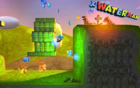 3D X WaterMan - водный человек | Android