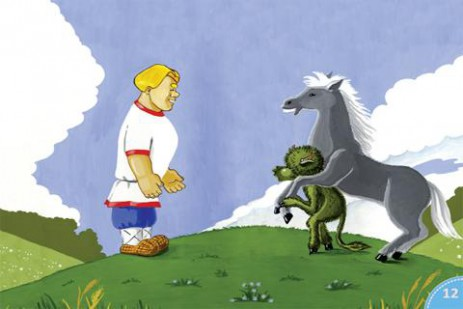 Скриншот «О попе и работнике его Балде» – интерактивная сказка