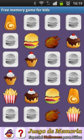 Скриншот Free memory game for kids – развивающая память игра