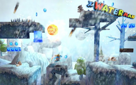 Скриншот 3D X WaterMan – водный человек
