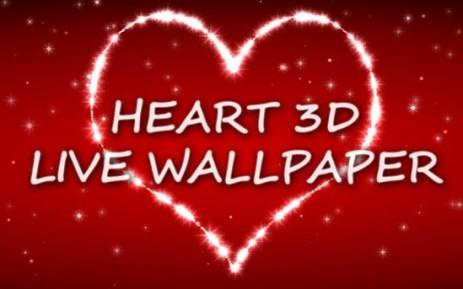 Сердце 3D живые обои - thumbnail