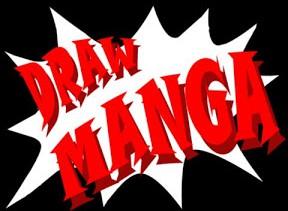 """Poster <span lang=""""ru"""">Draw Manga</span>"""