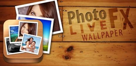 Poster живые обои из ваших фото — Photo FX Live Wallpaper