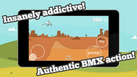 Скриншот трюки на BMX