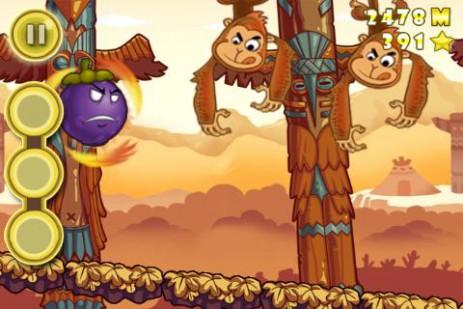 Скриншот фрукты-попрыгунчики