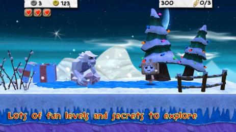 Скриншот приключения картонного человечка
