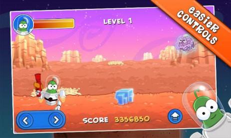 Скриншот Бёрт на Марсе