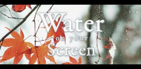 Water on your screen - thumbnail