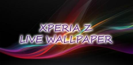 Poster Xperia Z живые обои