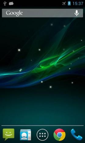 Скриншот Xperia Z живые обои 3