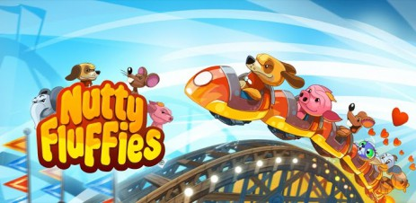 """Poster <span lang=""""ru"""">Nutty Fluffies Rollercoaster</span>"""