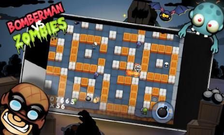 Скриншот Бомбермен против Зомби