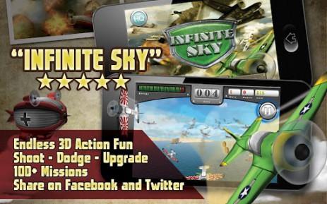 Скриншот Infinite Sky
