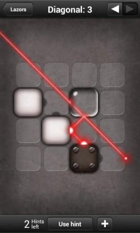 Скриншот головоломка с лазерами