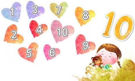 Скриншот обучение цифр для детей