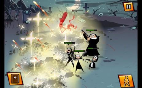 Скриншот борьба со злой монашкой