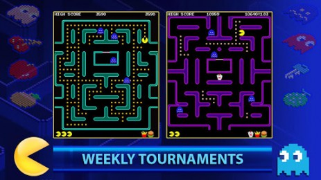 Скриншот PAC-MAN +Tournaments