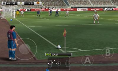 Скриншот профессиональный футбол