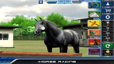 "Poster <span lang=""ru"">iHorse Racing: free horse racing game</span>"
