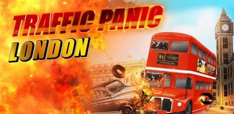 """Poster <span lang=""""ru"""">Traffic Panic London</span>"""