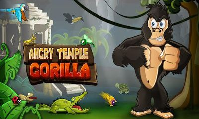 Poster Angry Temple Gorilla